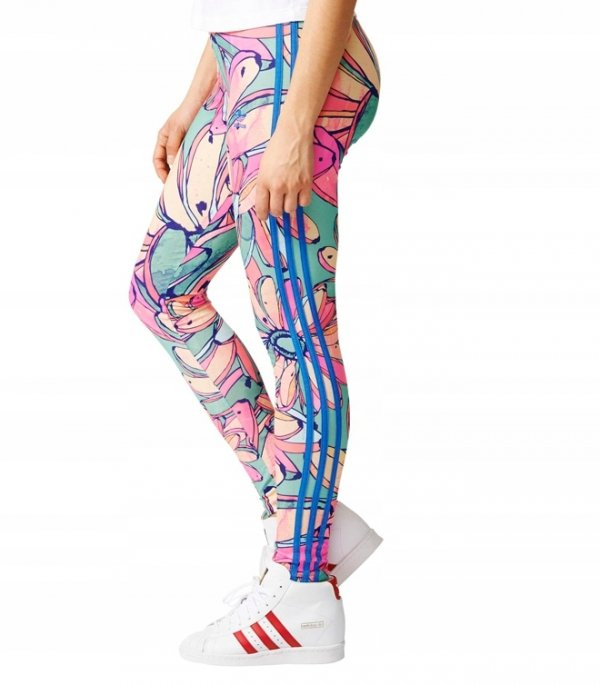 ADIDAS ORIGINALS LEGGINSY DAMSKIE 3STR LEGGINGS AJ8070