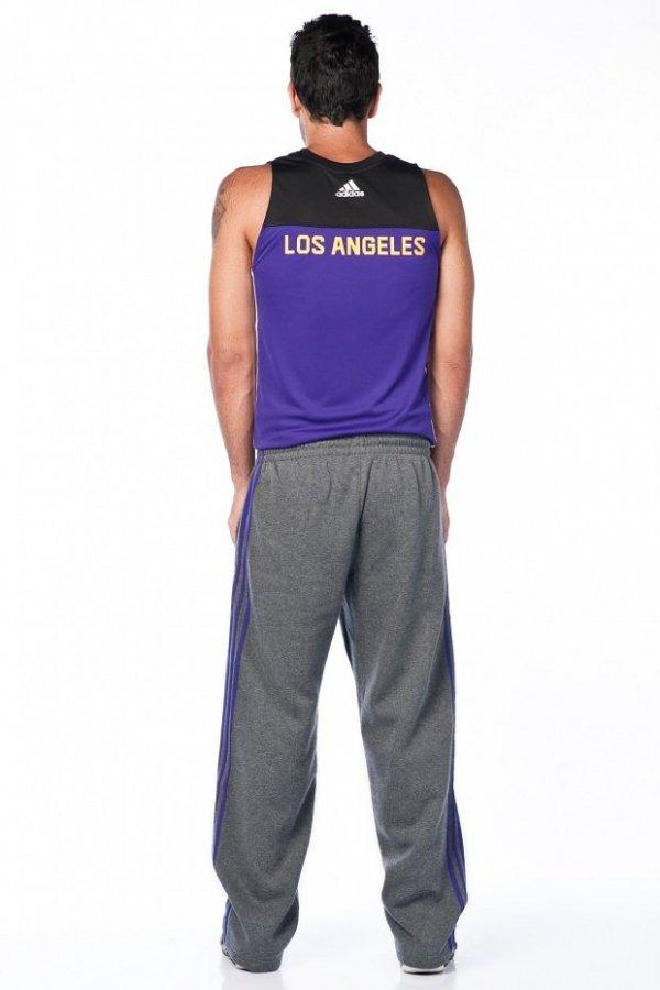 ADIDAS SPODNIE DRESOWE NBA LA LAKERS F87772