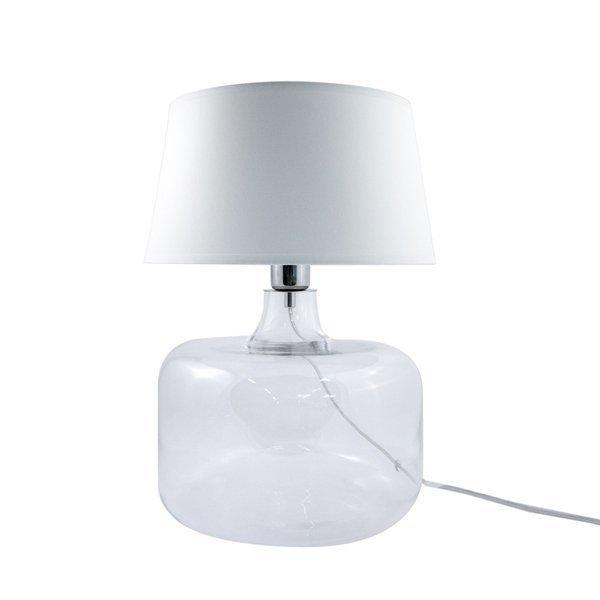 Lampa stołowa BATUMI TRANSPARENT 5527WH Zuma Line