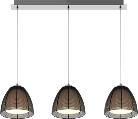LAMPA WISZĄCA ZUMA LINE PICO PENDANT MD9023-3Bblack