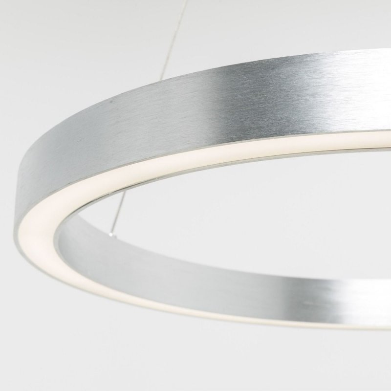 Lampa wisząca srebrna 50W 60cm CARLO PL200910-600-SL Zuma Line