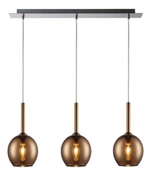 Lampa wisząca MONIC copper MD1629-3A Zuma Line