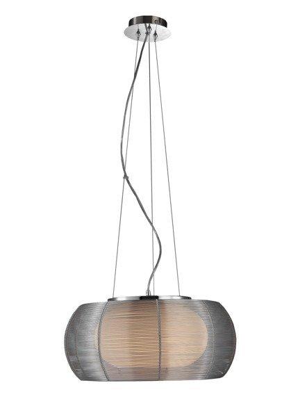 LAMPA WISZĄCA  ZUMA LINE TANGO 40 MD1104-2 SILVER
