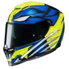 HJC RPHA 70 KASK MOTOCYKLOWY WOLVERINE X-MEN BLUE/YELLOW