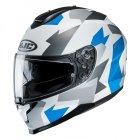 HJC C70 KASK MOTOCYKLOWY VALON WHITE/BLUE
