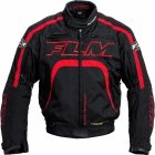 FLM Kurtka tekstylna sportowa T16 Evo z membraną SympaTex - czarno-czerwona