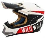 Kask motocyklowy dziecięcy enduro Shiro MX-306 Wild Wolf