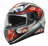 SHIRO SH-3700 ASSEN kask motocyklowy czerwony