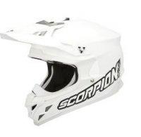 Scorpion VX-15 Evo Air kask motocyklowy biały