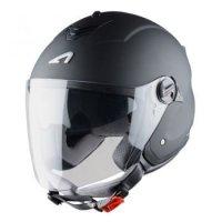 Astone Mini Jet kask motocyklowy czarny mat