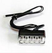 Podświetlenie tablicy rejestracyjnej diodowe LED