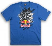 KINI RED BULL Pasted K Blue T-Shirt koszulka niebieska