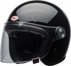 Bell Riot Solid kask motocyklowy Black