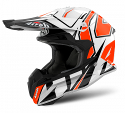 KASK AIROH TERMINATOR OPEN VISION SHOCK ORANGE XL