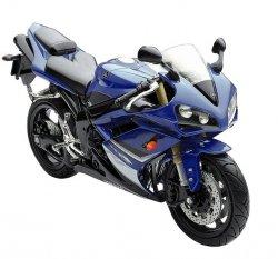 Model motocykla Yamaha YZF-R1 ´08  Skala 1:12