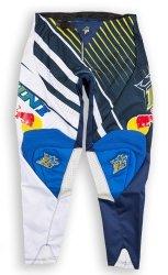 Kini Red Bull Vintage 2016 spodnie offroad żółto-niebieskie