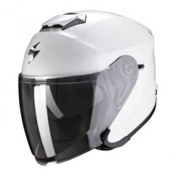 Scorpion kask motocyklowy  EXO-S1 SOLID PEARL WHITE