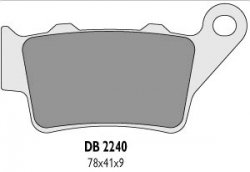 Delta Braking KTM 350 EXC LC4 (94-95) klocki hamulcowe tył