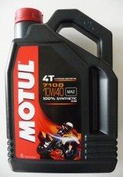 Motul 7100 Ester 10W40 olej syntetyczny do silników 4-suwowych 4L