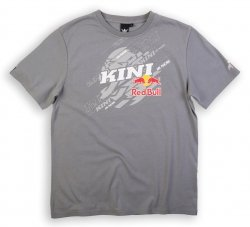 KINI RED BULL Dissected Grey T-Shirt koszulka szara