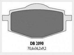 Delta Braking YAMAHA350 XT (85-95) klocki hamulcowe przód