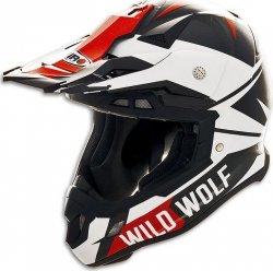 Shiro MX-917 Wild Wolf Carbon kask motocyklowy enduro