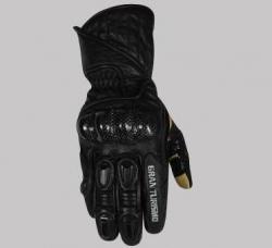 Polednik Gran Tourismo rękawice motocyklowe skórzane długie