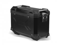 KUFER TRAX ADVENTURE ALU-BOX 45L (L) BLACK PRAWA STRONA SW-MOTECH