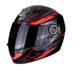 SCORPION KASK MOTOCYKLOWY EXO-490 NOVA BLACK-RED
