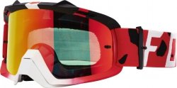 GOGLE FOX AIR SPACE GRAV RED - RED SPARK + CLEAR (2 SZYBY W ZESTAWIE)