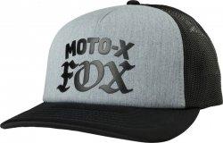 CZAPKA Z DASZKIEM FOX LADY MOTO X HEATHER GRAPHITE OS