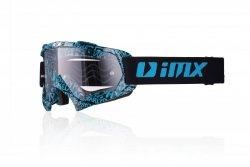 GOGLE IMX MUD GRAPHIC BLUE/BLACK - SZYBA CLEAR (1 SZYBA W ZESTAWIE) OS
