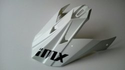 DASZEK DO KASKU IMX FMX-01 WHITE OS