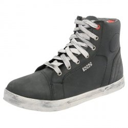 BUTY IXS SNEAKER NUBUK-COTTON BLACK 42