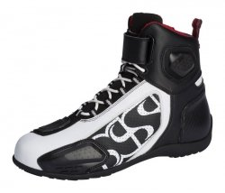 BUTY IXS RS-400 SHORT BLACK/WHITE 43