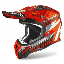KASK AIROH AVIATOR 2.3 AMS2 NOVAK CHROME ORANGE XL
