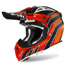 KASK AIROH AVIATOR ACE ART ORANGE GLOSS XL