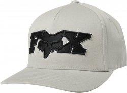 CZAPKA Z DASZKIEM FOX ELLIPSOID FLEXFIT GREY/BLACK L/XL