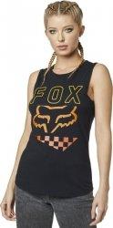 KOSZULKA FOX LADY BEZ RĘKAWÓW RICHTER BLACK XS