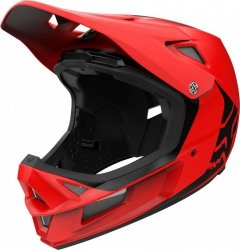 Kask Rowerowy Fox Rampage Comp Infinite Bright Red L
