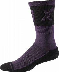 SKARPETY FOX 8 TRAIL CUSHION WURD DARK PURPLE S/M