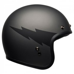 KASK BELL CUSTOM 500 DLX THUNDERCLAP MATTE GRAY/BLACK XL