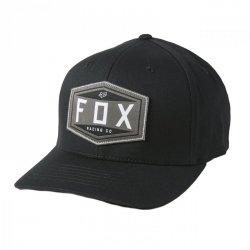 CZAPKA Z DASZKIEM FOX EMBLEM FLEXFIT BLACK L/XL