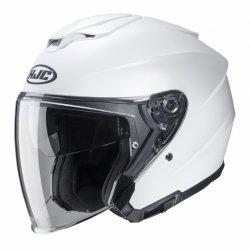 KASK HJC I30 SEMI FLAT PEARL WHITE L