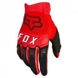 RĘKAWICE FOX DIRTPAW FLUORESCENT RED L
