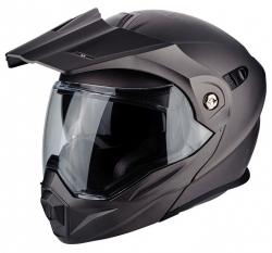 Scorpion ADX-1 kask motocyklowy szczękowy z daszkiem Dual Touring Adventure czarny mat