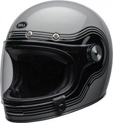 BELL BULLITT KASK MOTOCYKLOWY DLX FLOW GRAY/BLACK + BON 450 ZŁ