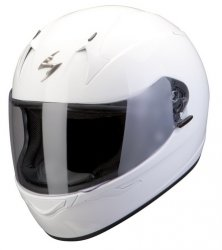 Scorpion Exo-410 Air kask motocyklowy biały połysk