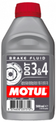 Motul DOT 3 & 4 płyn hamulcowy 0,5 L