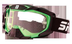 Gogle Shiro MX-902 gogle motocyklowe enduro zielone